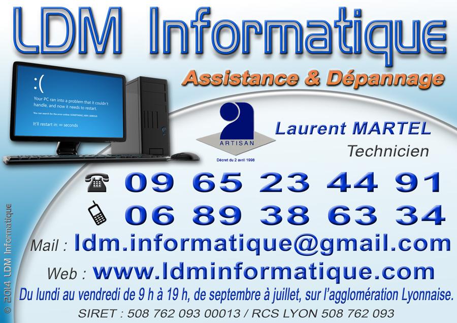 Carte De Visite LDM Informatique
